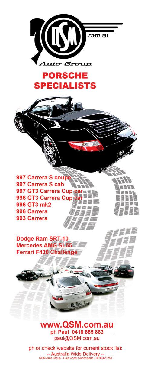 QSM Auto Group - Porsche Turbo 911 964 993 996 997 Boxster GT3 ...
